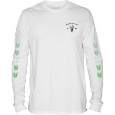 Camiseta Larga Hurley Kahuliwae Blanca