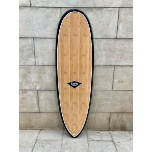 Tabla Surf Epoxy Bamboo Tactic Scorpion 6'4