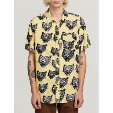 Camisa Volcom Ozzie Cat Lima