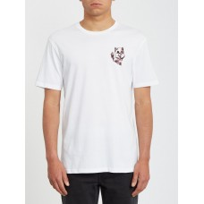 Camiseta Manga Corta Volcom Wiggly Blanca