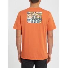 Camiseta Manga Corta Volcom DayBreak Naranja