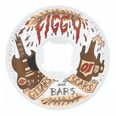 Ruedas Skate Figgy Guitars 54 101A