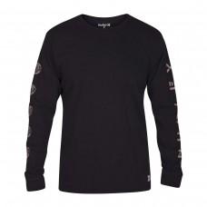 Camiseta Hurley M Heavy Cool Summer Tee Negra