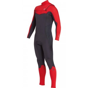 Traje Neopreno Billabong Furnace Absolute 4'3 Rojo 2019