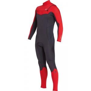 Traje Neopreno Billabong Furnace Absolute 4'3 Rojo 2019