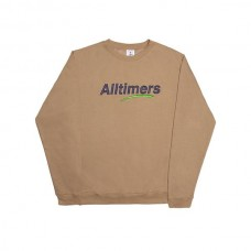 Sudadera Alltimers Estate Crew Marrón