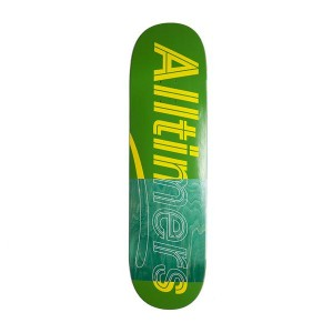 Tabla Skate Alltimers Trace Logo Verde 8.5