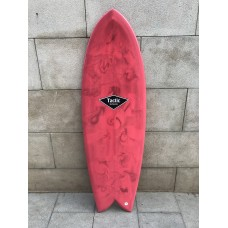 Tabla Surf Tactic Retro Fish 6'0 Roja