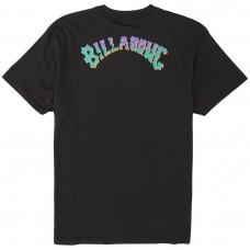Camiseta Manga Corta Billabong Bunker Tee Negra