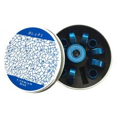 Rodamientos Skate Blurs Bearings Titanium Azules