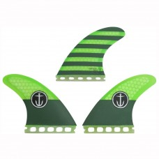 Quillas Captain Fin Medium Verdes