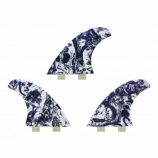 Quillas Surf Captain Fin Chemistry Paser Twin Tab