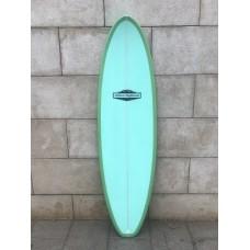 Tabla Surf Evolutiva Haleiwa 7'0 Azul Verde