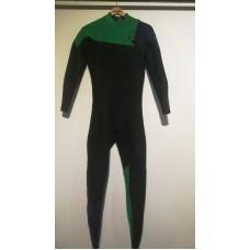 Traje Neopreno O'Neill Hyperfreak 3/2 Negro Verde Azul Nuevo