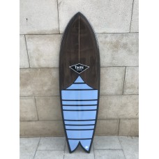 Tabla Surf Tactic Retro Fish 5'10 Marrón Lila