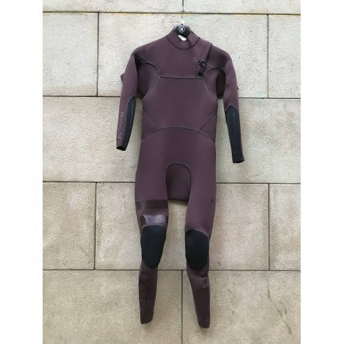 Traje Neopreno Hurley Advantege Max 2'2 Chest Zip Granate 2019