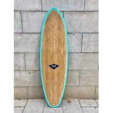 Tabla Surf Tactic Evolutiva Epoxy Bamboo 7'0 Verde