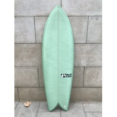 Tabla Surf Full & Cas F-Seven 5'6 Verde