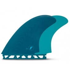 QUILLAS DE SURF FUTURES FINS EN TWIN AZULES