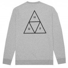 Sudadera HUF Triple Triangle Gris