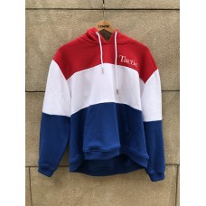 Sudadera Tactic Tri Tell Me Roja/Azul Chica