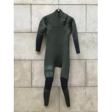 Traje Neopreno Hurley Advantege Max 3'3 Chest Zip Verde 2019