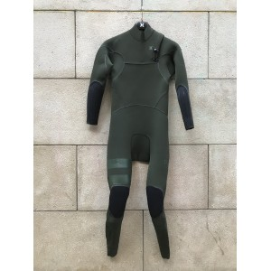 Traje Neopreno Hurley Advantage Max 3'3 Chest Zip Verde 2019