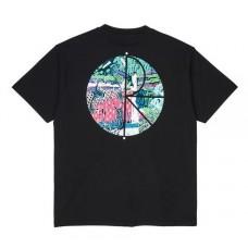 Camiseta Manga Corta Polar Garden Fill Logo Negra