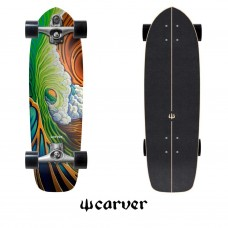 SURFSKATE CARVER GREEN ROOM C7