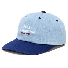 Gorra HUF Worldwide Denim 6 Panels