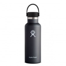 Botella Hydro Flask Negra 532ml