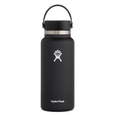 Botella Hydro Flask Negra 946ml