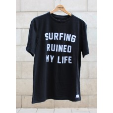 Camiseta Manga Corta Tactic Surfing Ruined My Life