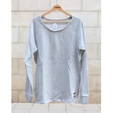 Jersey Tactic Wide Neck Gris