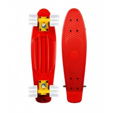 Mini Longboard Completo Long Island Buddy Rojo 22''