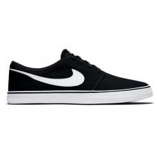Zapatillas Nike SB Solarsoft Portmore Negras Blancas