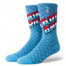 Calcetines Stance Captain America Azules