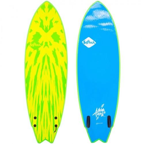 TABLA DE SURF SOFTCH MASON TWIN 5'6 VERDE LIMA