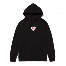Sudadera HUF Plastic Heart Pullover Negra