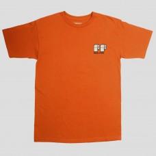 Camiseta Manga Corta Pass Port Poo Poo Naranja