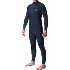 Traje Neopreno Rip Curl Dawn Patrol 4'3 Chest Zip Azul 2019