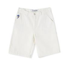 Pantalón corto Polar Skate Co '93 Canvas Blanco