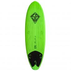 Tabla Surf CBC Scott Burke Baja 6'' Verde