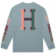 Camiseta Manga Larga Huf Suspension Classic H Azul