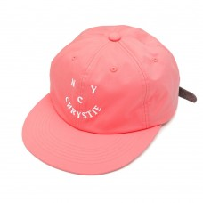 Gorra Chrystie New York Smile Logo Rosa