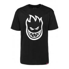 Camiseta Manga Corta Spitfire Bighead Negra