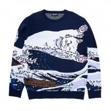 Sudadera Rip N Dip Great Wave Sweater