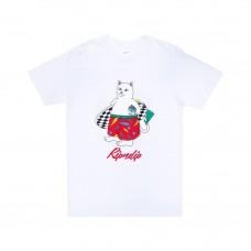 Camiseta Manga Corta Rip N Dip Surf Break Blanca