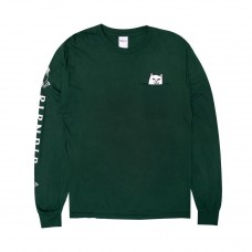 Camiseta Manga Larga Rip N Dip Pocket Verde