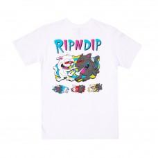 Camiseta Manga Corta Rip N Dip Hash Bros Blanca